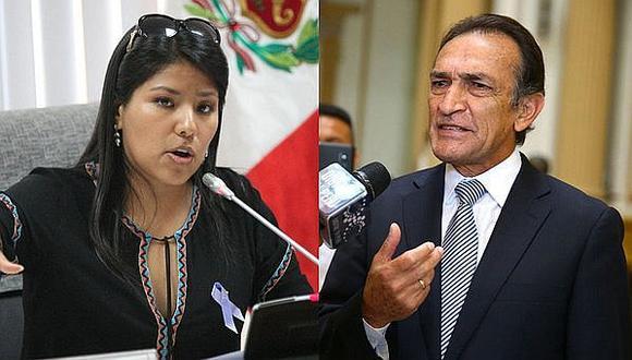 Congresista Huilca advierte abrir un proceso disciplinario contra Héctor Becerril