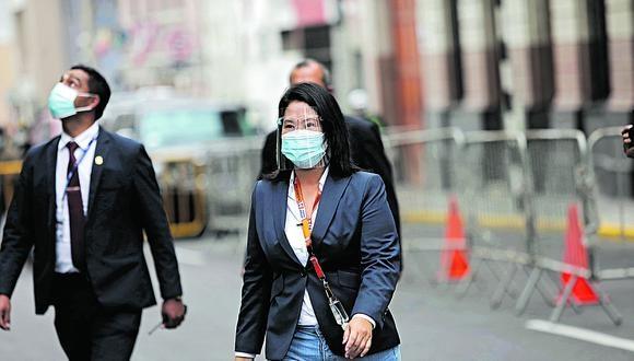 Keiko Fujimori publicó el hábeas data que presentaron contra la ONPE. (Foto: GEC)