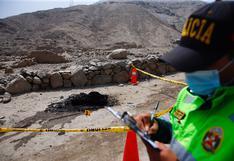 Cieneguilla: Hallan restos humanos descuartizados y carbonizados cerca de zona arqueológica