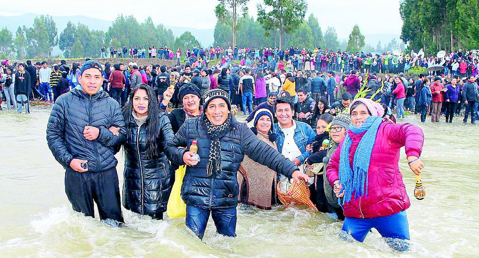 Jauja se alista para un particular ritual fluvial que busca aliviar los males