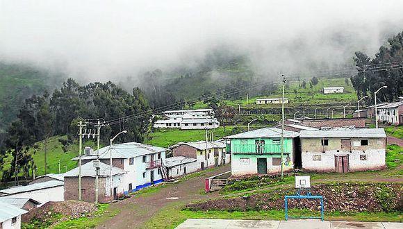 Heladas afectarán zonas altas de Chincha