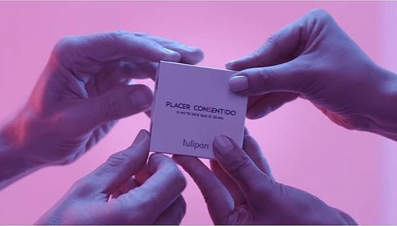 Conoce el único preservativo que se abre con consentimiento