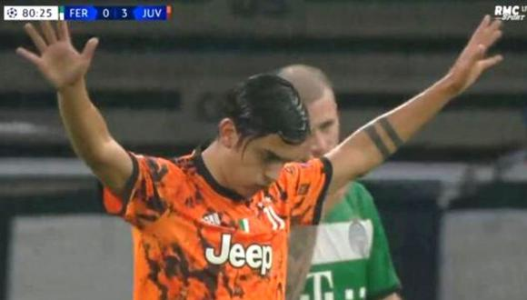 Gol de Paulo Dybala (RMC)