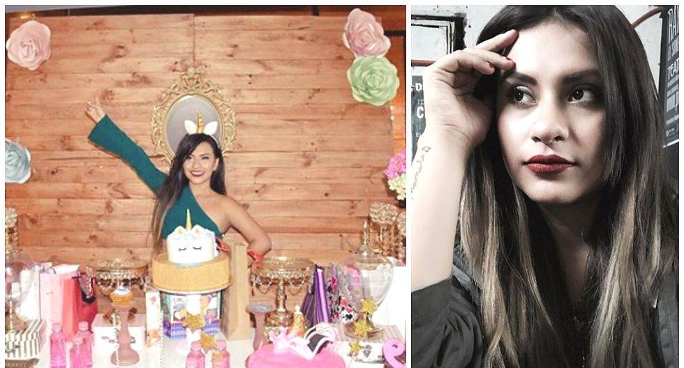 Thamara Gómez recibió polémica torta de cumpleaños que le recordó su accidente en yunza (FOTO)