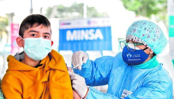 Minsa está a 1 millón de vacunas para llegar a la meta del 50 % de población objetivo con dos dosis
