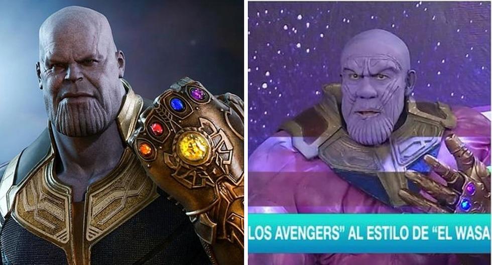 Avengers Endgame: Así transformaron a Yuca en Thanos para el Wasap de JB