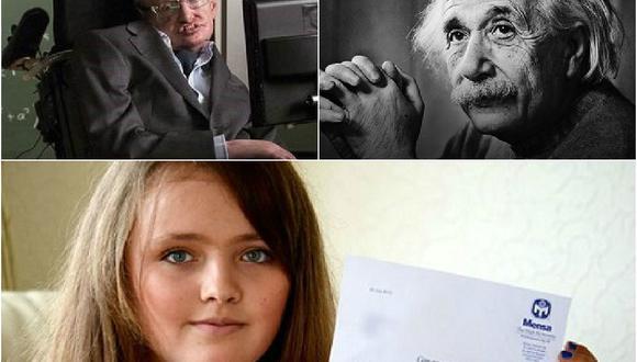 Niña de 12 años supera en coeficiente intelectual a Stephen Hawking