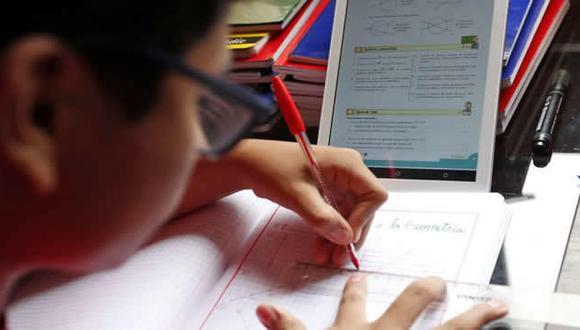 Las tablets ayudarán a los escolares a complementar las clases que reciben de manera remota. (Foto: Minedu)