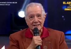 """Guillermo Rossini recibe homenaje en """"El Reventonazo de la Chola"""": """"Realmente me siento feliz"""" (VIDEO)"""