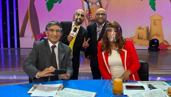 Verónica Linares manifestó no estar molesta por parodia de Ernesto Pimentel, todo lo contrario, le parece muy buena. (Foto: Difusión)
