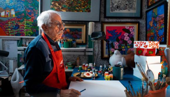 Entre las alternativas que presenta el portal está la muestra Color y Sentimiento, un homenaje a la vida y obra del artista naíf Enrique Bustamante. (Foto: UPC Cultural)