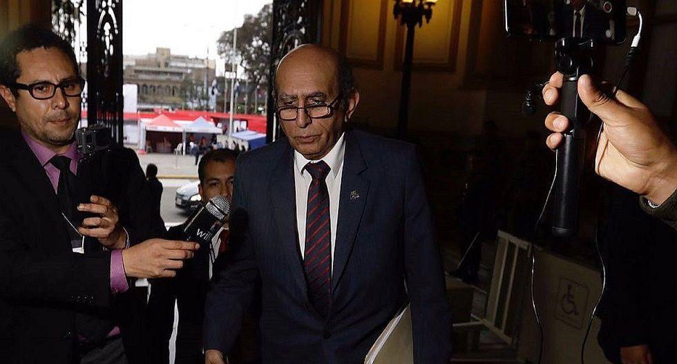 """Consejero Hebert Marcelo: """"Cuando se produjo la vacancia, no se hizo lo mismo con los vicepresidentes"""""""