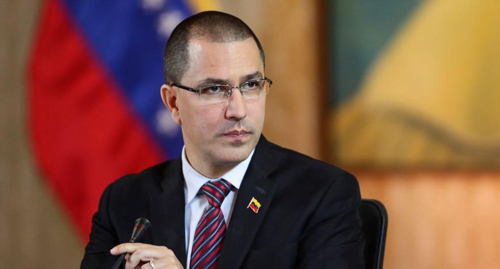 El ministro de Relaciones Exteriores de Venezuela, Jorge Arreaza. (Foto: EFE)
