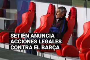 Nuevo problema para el Barcelona: ¿Por qué Setién tomará acciones legales contra el club?