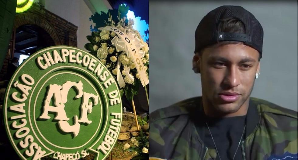 Neymar reflexiona sobre el Chapecoense a un año de la tragedia