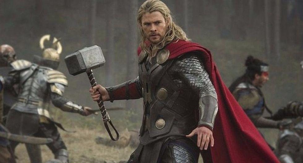 Chris Hemsworth colgó su martillo y se despide para siempre del Universo Marvel