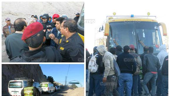 Paro Nacional: Desbloquean carretera Interocéanica en Moquegua