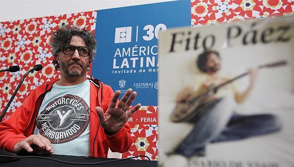 Fito Páez presenta su nuevo libro autobiográfico en la FIL de Guadalajara