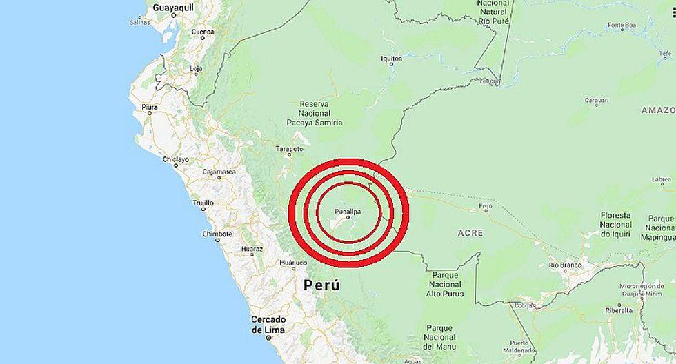 La Tierra tembló en la selva peruana.