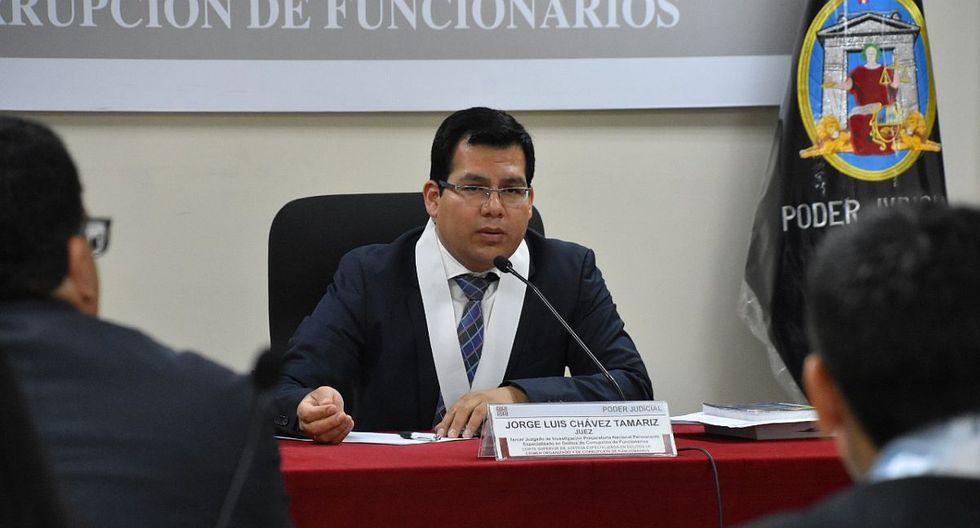 El juez Jorge Chávez Tamariz evaluó el pedido de la procuraduría ad hoc para sumarse al proceso contra PPK. (Foto: Difusión)