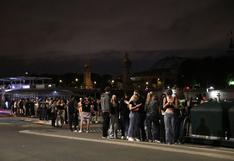 Francia: Policía dispersa a cientos de jóvenes en una fiesta nocturna en París