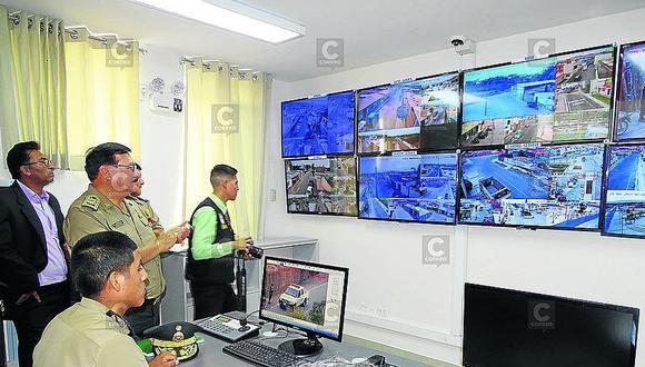 Instalan videovigilancia en el valle de Tambo