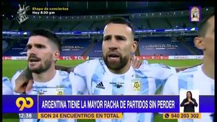 Argentina lleva racha de 23 partidos sin derrotas, la mejor marca en el mundo (VIDEO)