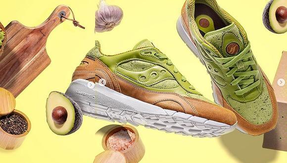 Exclusiva marca de zapatillas lanza modelo inspirado en la palta