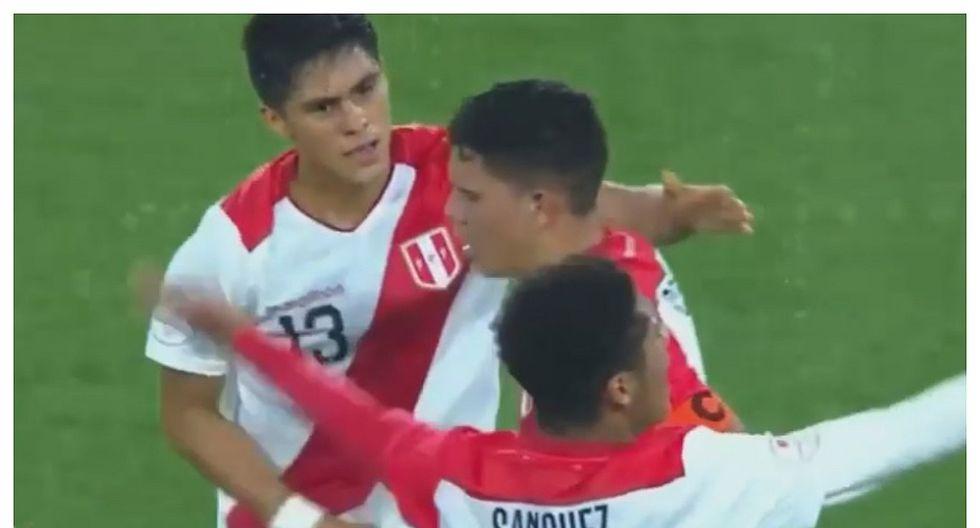 Perú vs Ecuador: Yuriel Celi y el golazo de tiro libre que anotó (VIDEO)