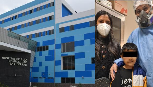 Equipo de cirujanos reconstruyen rostro a niño de 7 años que sufrió accidente en La Libertad. (Foto: EsSalud)