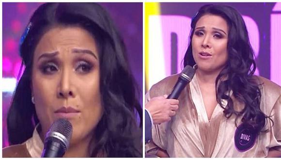 Tula Rodríguez se quiebra al dedicarle mensaje a su hija antes de volver a bailar (VIDEO)