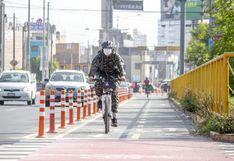 Municipalidad de Lima implementó 4.7 km de ciclovías emergentes en la Av. Canadá