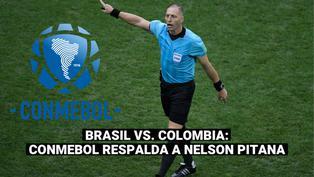 Copa América: Conmebol consideró acertada la actuación de Pitana en el Brasil-Colombia