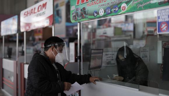 Raúl Salazar, vocero de Sutran, señala se realizarán operativos para evitar el transporte informal en el que no se respetan las medidas de seguridad. (Foto: Anthony Niño de Guzmán/GEC)