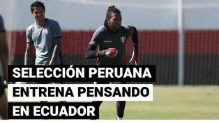 Copa América: Selección Peruana se alista para el partido frente a Ecuador