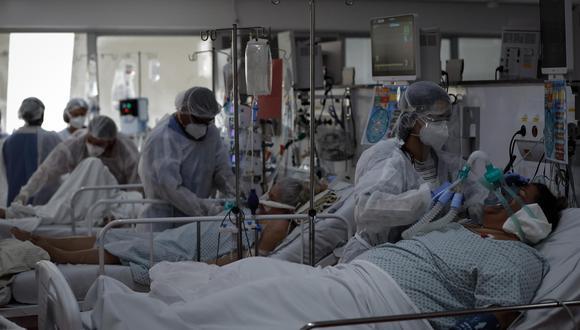 Brasil acumula un total de 17.210.969 casos confirmados de coronavirus. (Foto: EFE/Fernando Bizerra Jr.)