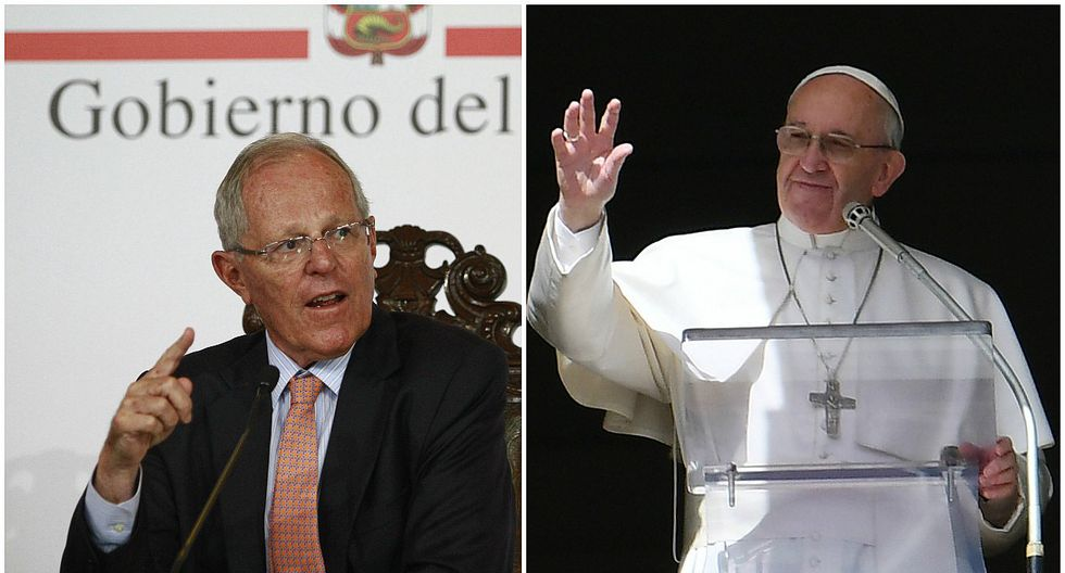 Presidente Kuczynski agradeció mensaje de paz al Papa Francisco