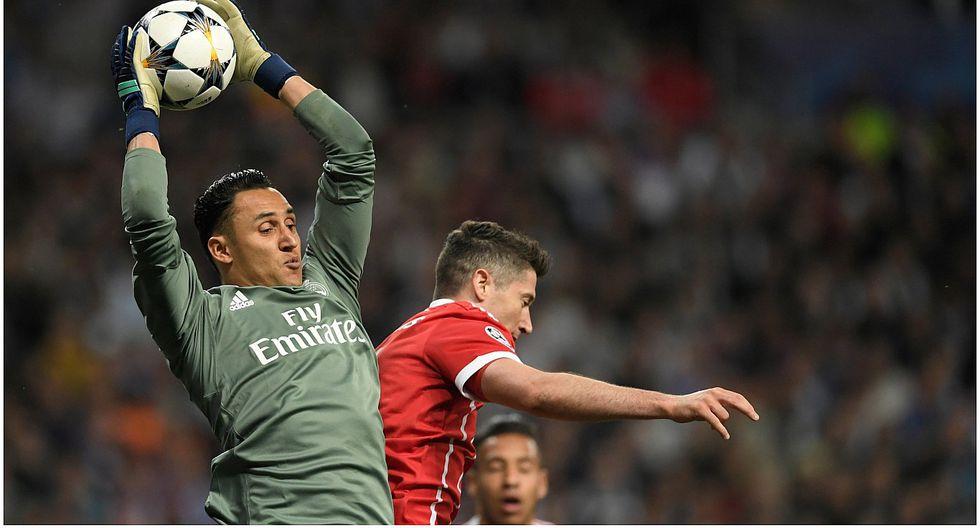 Keylor Navas se lució con espectaculares atajadas en el Real Madrid vs Bayern Munich (VIDEO)