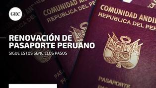¿Cómo puedo renovar mi pasaporte?