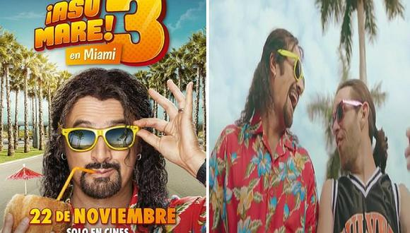 'Asu Mare 3': lanzan nuevo teaser de la película (VÍDEO)