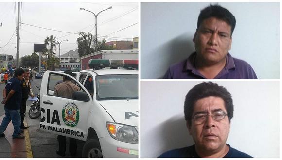 Ilo: PNP detiene a dos foráneos acusados de hurto y estafa