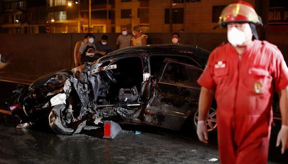 Dos fallecidos deja racha de accidentes en la Panamericana Norte, en Áncash. (Foto referencial: César Bueno @photo.gec)