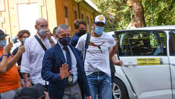Más detalles del examen farsa de Luis Suárez. (Foto: EFE)