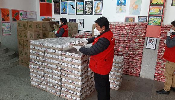 Observan reporte en el SEACE de las canastas del 10% de municipios de Huancavelica