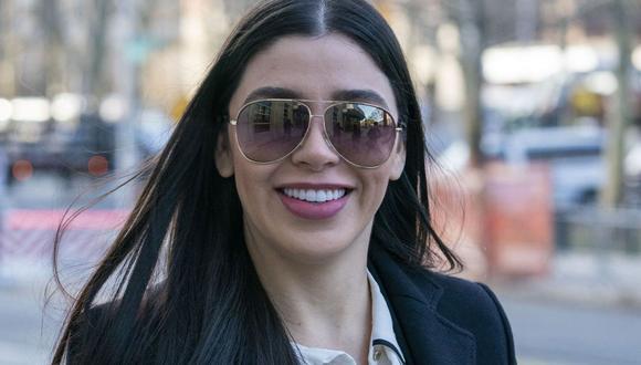 Emma Coronel, esposa de 'El Chapo' Guzmán. (Foto: Don Emmert / AFP)