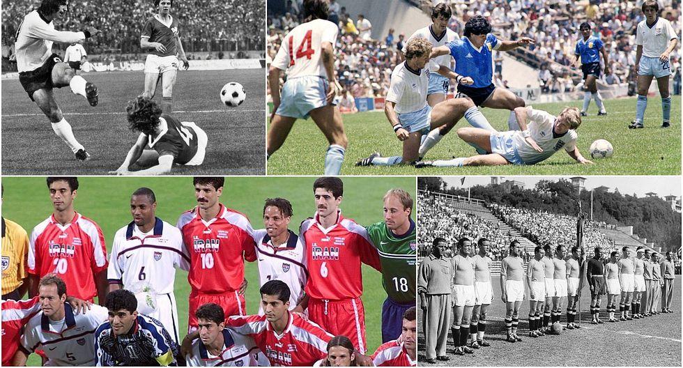 Partidos con tinte político a lo largo de la Copa del Mundo (FOTOS)