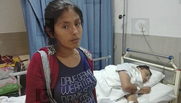 Familia de agricultor herido pide apoyo para tratamiento