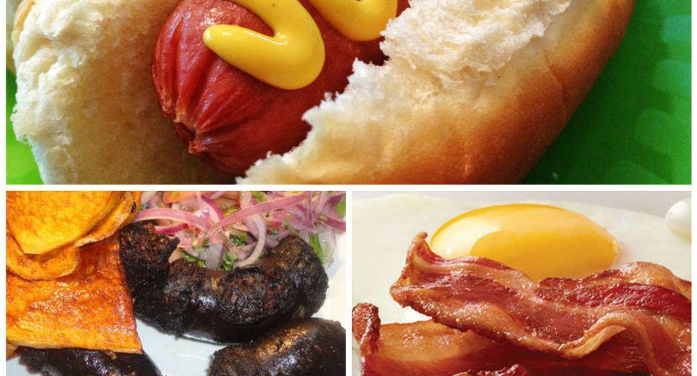 Estos son los 10 alimentos que consumes a diario y que la OMS afirma son cancerígenos