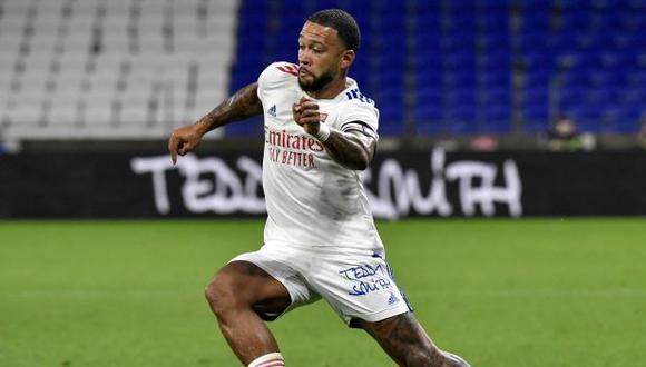 Memphis Depay tiene contrato con Lyon hasta mediados del 2021. (Foto: AFP)