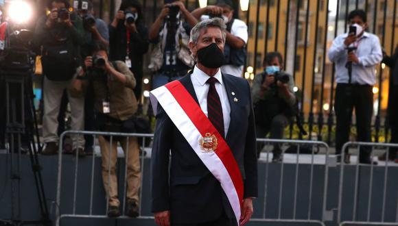 Francisco Sagasti comentó sobre un pedido de un sector de la ciudadanía. (Foto: Presidencia)